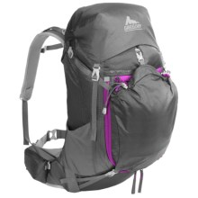 Gregory J33 Backpack - Internal Frame (For Women) in Fog Grey - Closeouts
