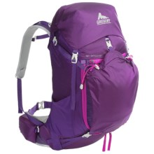 Gregory J33 Backpack - Internal Frame (For Women) in Moonrise Purple - Closeouts