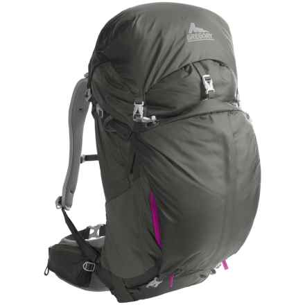 Gregory J53 Backpack - Internal Frame (For Women) in Fog Grey - Closeouts