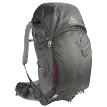 Gregory J63 Backpack - Internal Frame (For Women) in Fog Grey - Closeouts