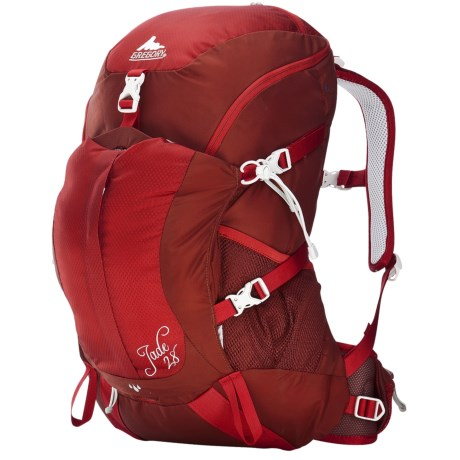 Gregory Jade 28 Backpack - Internal Frame (For Women) in Lava Red