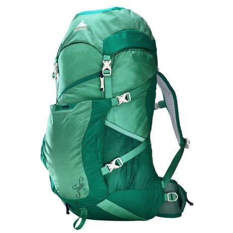 Gregory Jade 34 Backpack - Internal Frame (For Women) in Teal Green
