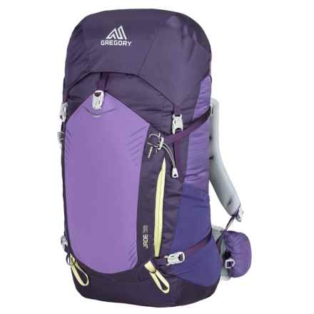 Gregory Jade 38L Backpack - Internal Frame (For Women) in Mountain Purple - Closeouts