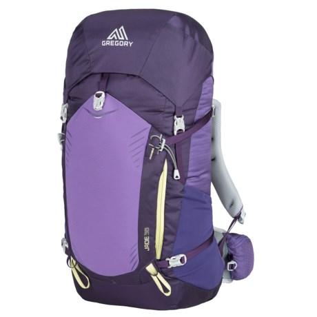 Gregory Jade 38L Backpack - Internal Frame (For Women) in Mountain Purple b9b995e489bc0