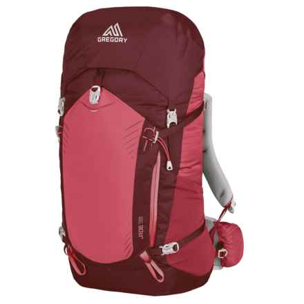 Gregory Jade 38L Backpack - Internal Frame (For Women) in Ruby Red - Closeouts