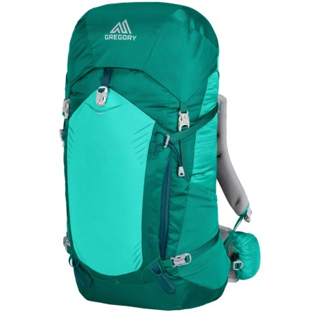 Gregory Jade 38L Backpack - Internal Frame (For Women) in Tropic Teal