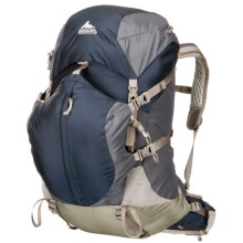 Gregory Jade 50 Backpack - Internal Frame (For Women) in Blue/Berry - Closeouts