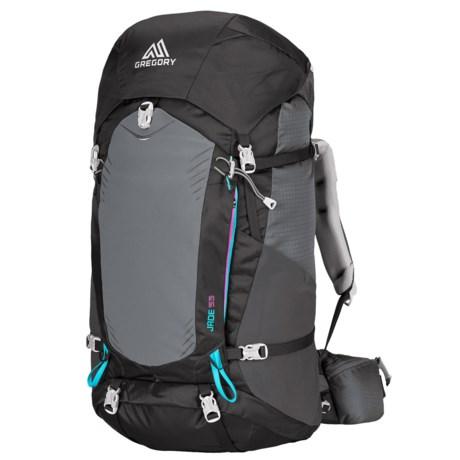 Gregory Jade 53 Backpack (For Women) in Dark Charcoal