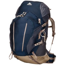 Gregory Jade 70 Backpack - Internal Frame (For Women) in Blue/Berry