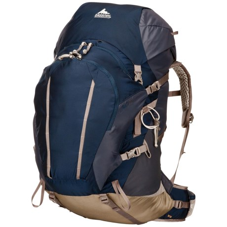 Gregory Jade 70 Backpack - Internal Frame (For Women) in Caravan Green