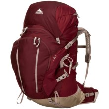 Gregory Jade 70 Backpack - Internal Frame (For Women) in Rosewood Red - Closeouts