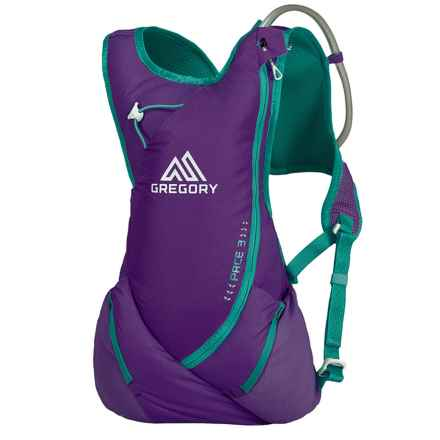 Gregory Pace 3 Hydration Pack - 70 fl.oz. (For Women) in Moonrise Purple - Closeouts