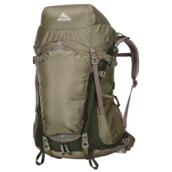 Gregory Sage 45 Backpack - Internal Frame (For Women) in Cypress Green