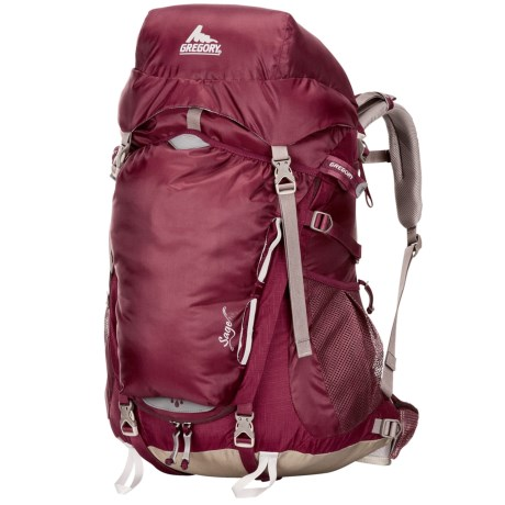 Gregory Sage 45 Backpack - Internal Frame (For Women) in Rosewood Red