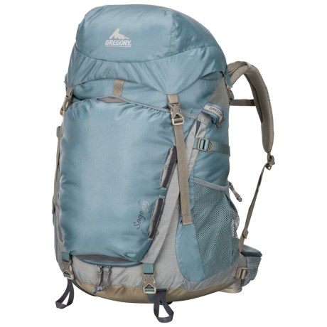 Gregory Sage 55 Backpack - Internal Frame (For Women) in Tule Blue