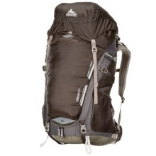 Gregory Savant 58 Backpack - Internal Frame in Thundercloud Black - Closeouts