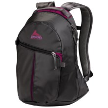 Gregory Sequence Backpack in Black Tarp/Fuchsia Pc - Closeouts