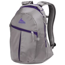 Gregory Sequence Backpack in Grey Tarp/Ultraviolet Pc - Closeouts