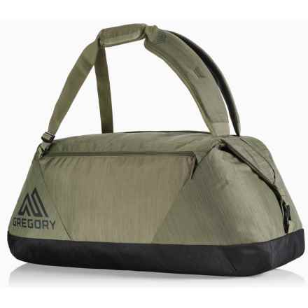 Gregory Stash 65 Duffel Bag in Dark Olive - Closeouts