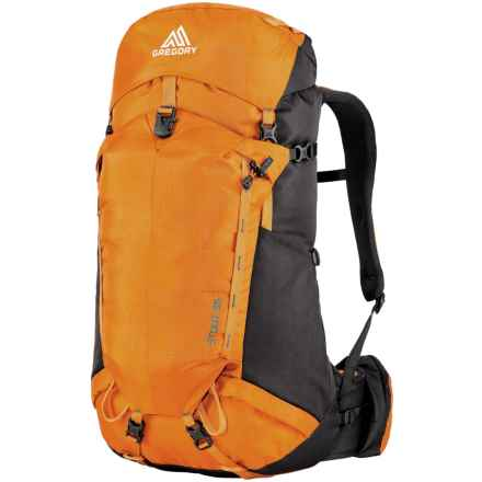 Gregory Stout 35 Backpack - Internal Frame in Maple Orange - Closeouts