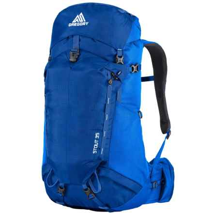 Gregory Stout 35 Backpack - Internal Frame in Marine Blue - Closeouts