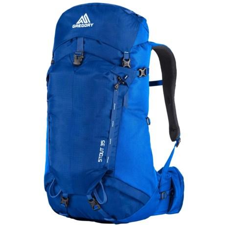 Gregory Stout 35 Backpack - Internal Frame in Marine Blue