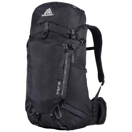 Gregory Stout 35 Backpack - Internal Frame in Shadow Black