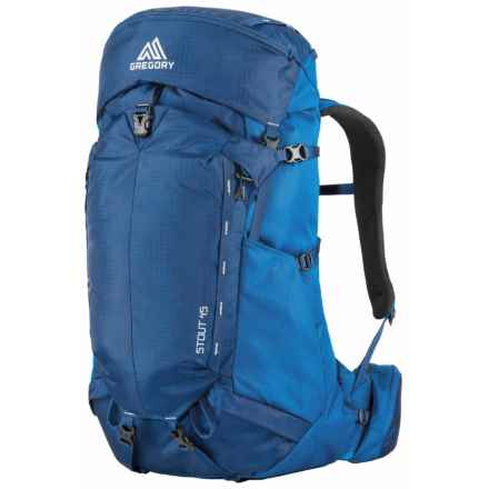 Gregory Stout 45 Backpack in Marine Blue - Closeouts