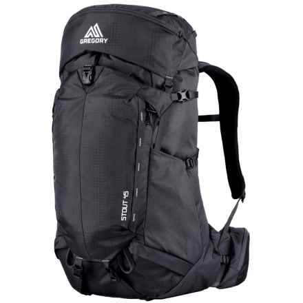 Gregory Stout 45 Backpack in Shadow Black - Closeouts