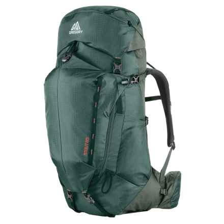Gregory Stout 65 Backpack - Internal Frame in Forest Green - Closeouts