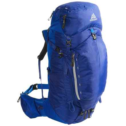 Gregory Stout 65 Backpack - Internal Frame in Marine Blue - Closeouts