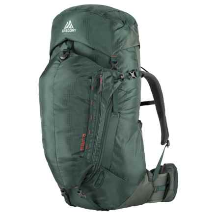 Gregory Stout 75 Backpack - Internal Frame in Forest Green - Closeouts