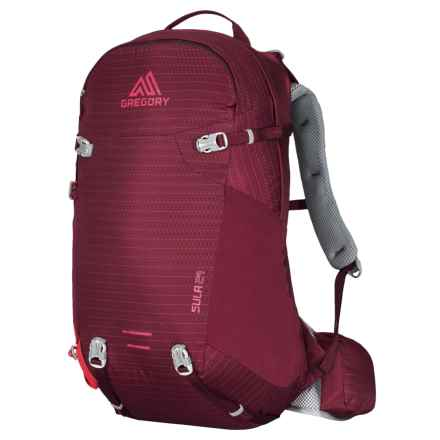 Gregory Sula 24L Backpack - Internal Frame (For Women) in Ruby Red - Closeouts