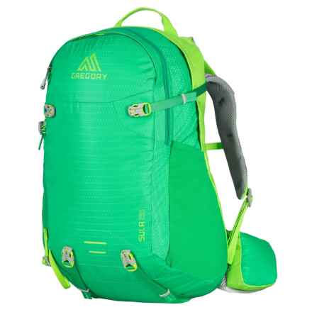 Gregory Sula 28L Backpack - Internal Frame (For Women) in Bright Green - Closeouts