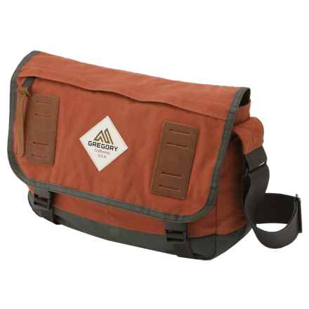 Gregory Sundowner Messenger Bag in Rust - Closeouts