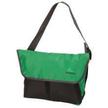Gregory Sync Messenger Bag - 11L in Green Tarpaulin/Gun Metal - Closeouts