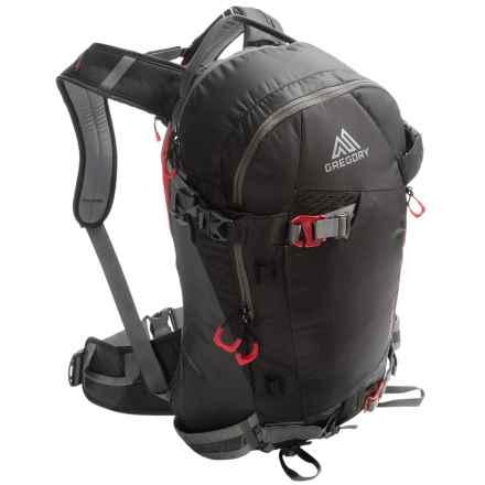 Gregory Targhee 26L Backpack - Internal Frame in Patrol Black - Closeouts