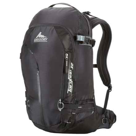 Gregory Targhee 32L Backpack - Internal Frame in Basalt Black - Closeouts