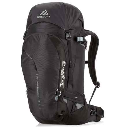 Gregory Targhee 45L Backpack - Internal Frame in Basalt Black - Closeouts
