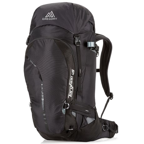Gregory Targhee 45L Backpack - Internal Frame in Basalt Black
