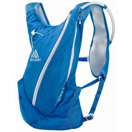 Gregory Tempo 5L Hydration Pack - 70 fl.oz. (For Men) in Mistral Blue - Closeouts