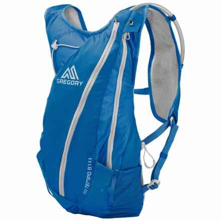 Gregory Tempo 8 Hydration Pack - 70 fl.oz. (For Men) in Mistral Blue - Closeouts