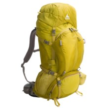Gregory Triconi 60 Backpack in Electric Yellow - Closeouts