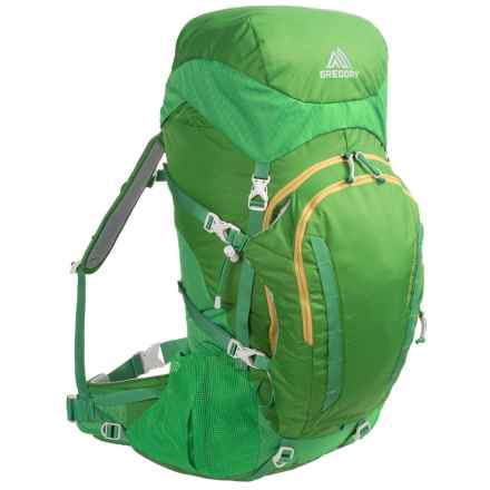 Gregory Wander 50 Backpack - Internal Frame (For Big Kids) in Chlorophyl - Closeouts