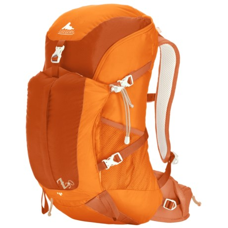 Gregory Z30 Backpack - Internal Frame in Spark Orange