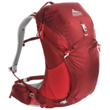 Gregory Z30 Backpack - Internal Frame in Spark Red - Closeouts