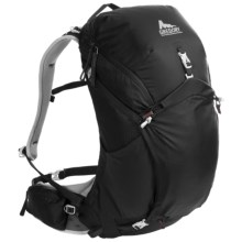 Gregory Z30 Backpack - Internal Frame in Storm Black - Closeouts