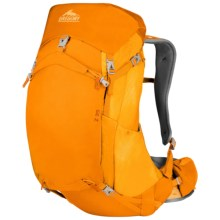 Gregory Z35 Backpack - Internal Frame in Solar Yellow - Closeouts