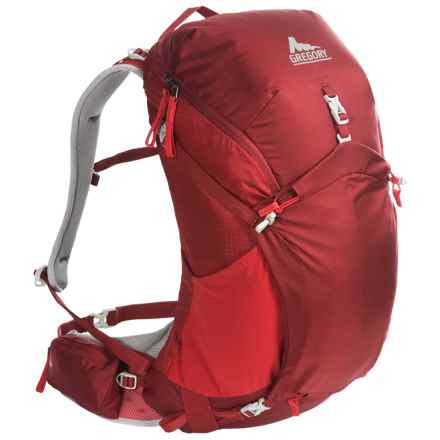 Gregory Z40 Backpack - Internal Frame in Spark Red - Closeouts