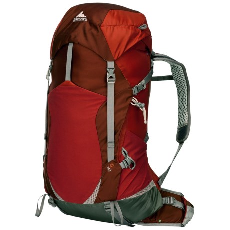 Gregory Z45 Backpack - Internal Frame in Ember Orange